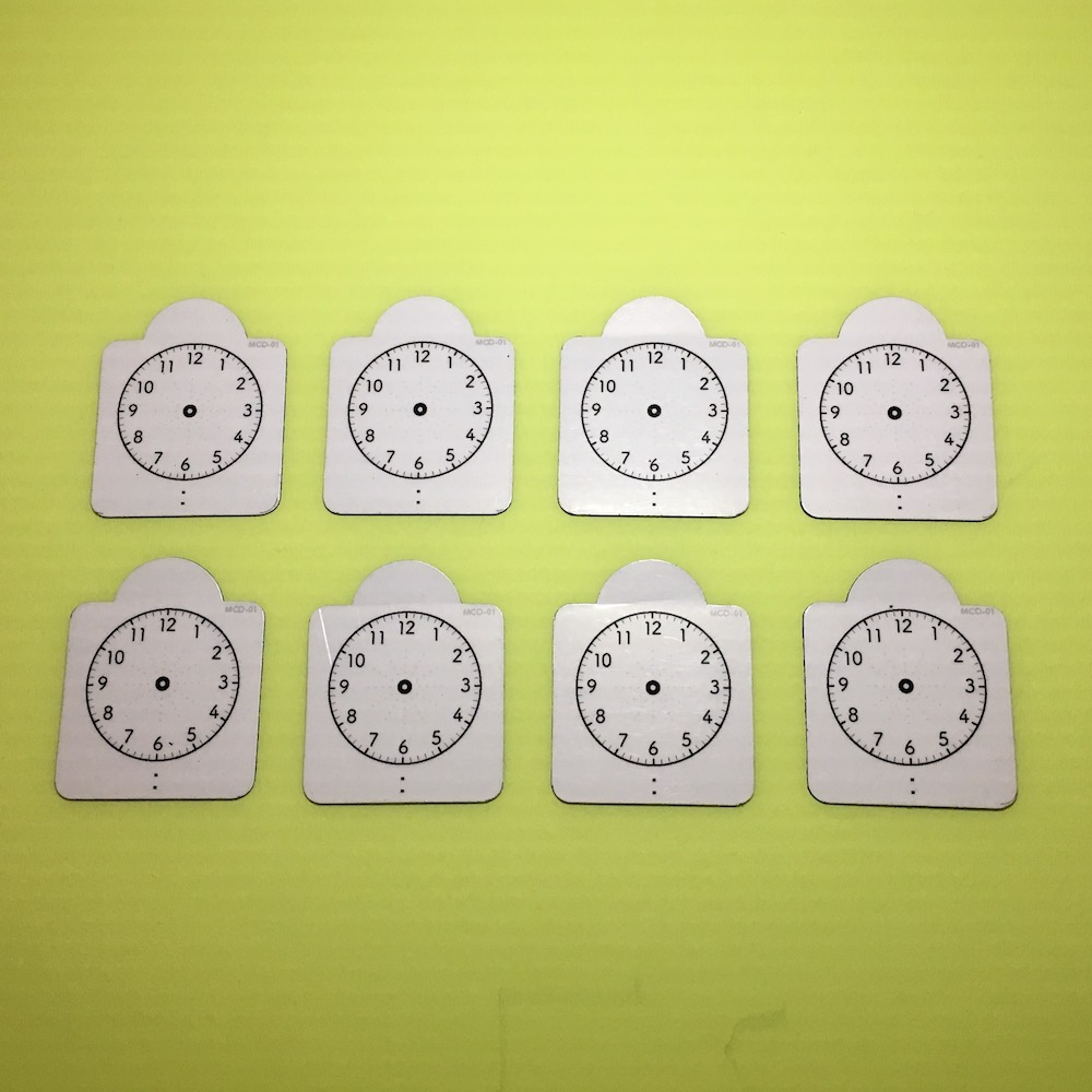 画像1: 時計マグネット(8個入り) (1)